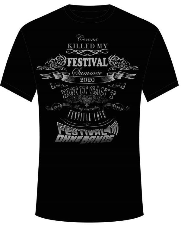 Corona killed my Festival Summer 2020 FoB-Shirt